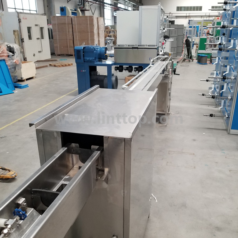 FTTH Drop Cable Extrusion Line