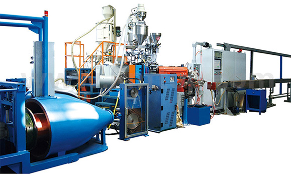 100+50+50 High speed building wire extrusion line