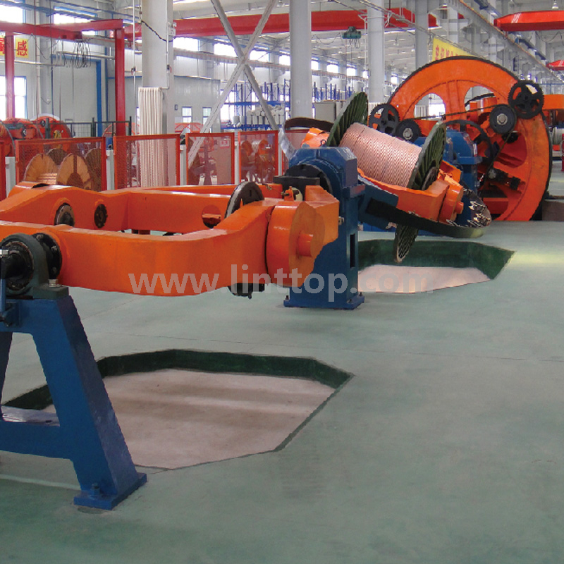 Cradle Type Cabling Machine/ Laying Up Machine